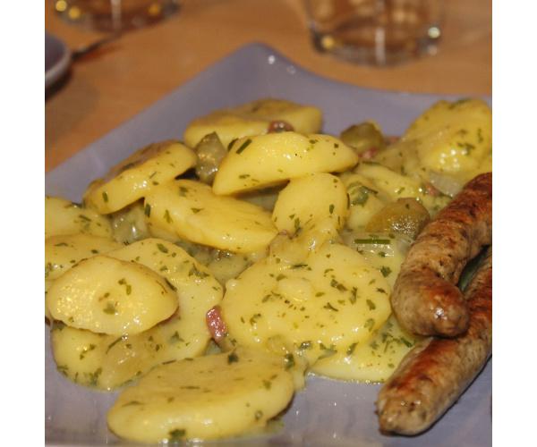 Badischer Kartoffelsalat /Erdepfelsalat