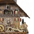 Kuckucksuhr Schwarzwaldhof Holzabfuhr zu Flößern im Kinzigtal