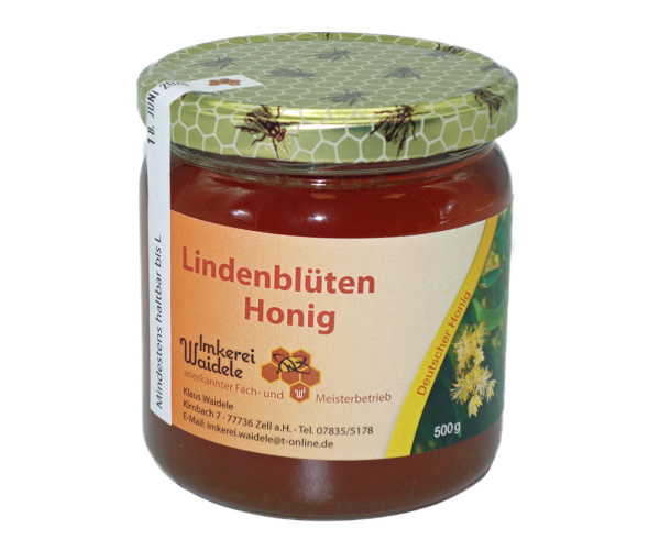 Schwarzwälder Lindenblüten-Honig, 500 g