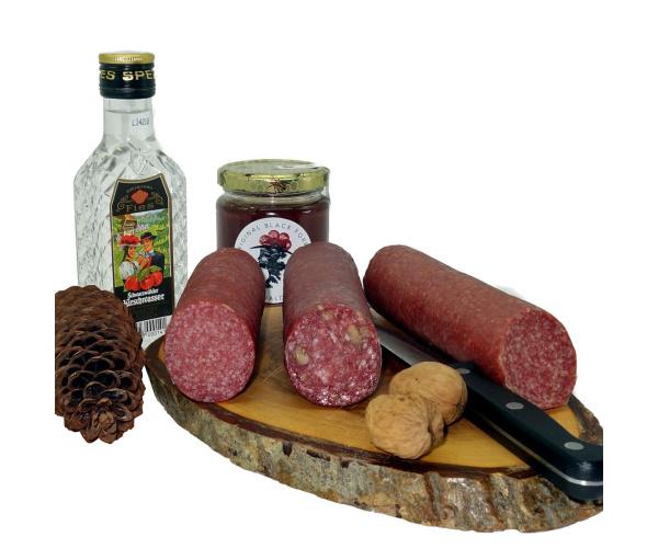 Salami 3-er Pack: Kirschwasser, Walnuss, Honig ca. 540 g