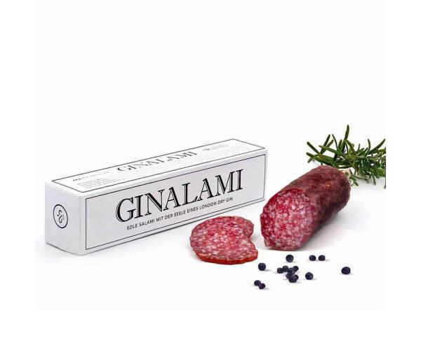 Original Ginalami Salami mit London Dry Gin, ca. 200 g