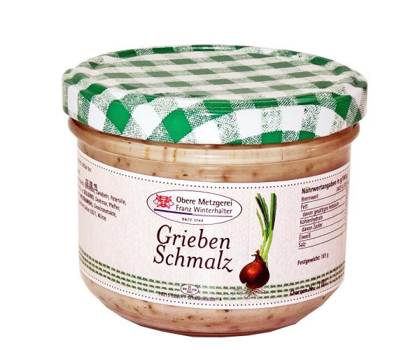 Schwarzwälder Grieben-Schmalz 185 g