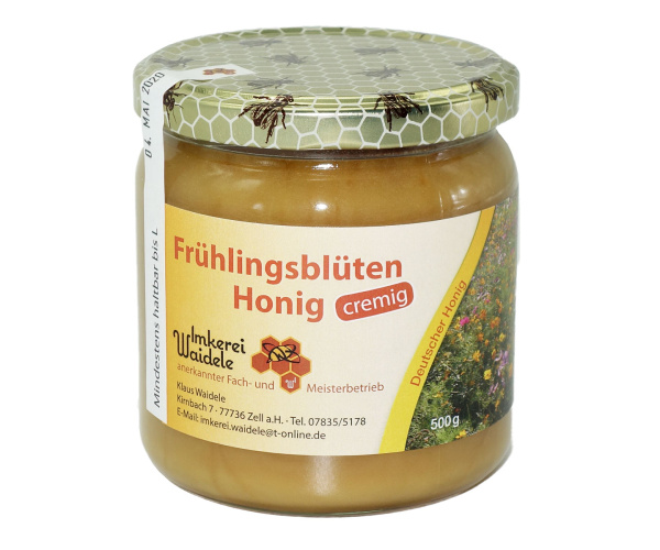 Schwarzwälder Frühlingsblüten-Honig cremig 500 g