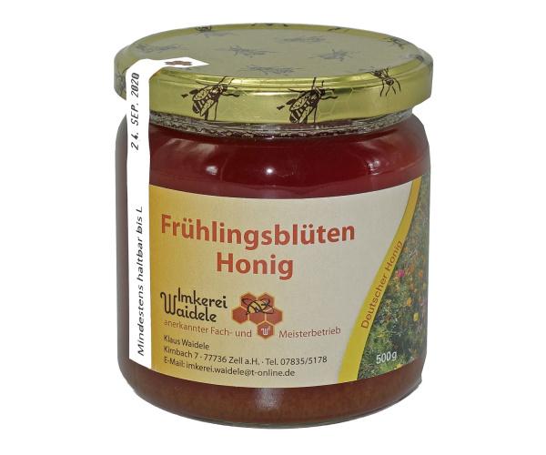 Schwarzwälder Frühlingsblüten-Honig flüssig 500 g