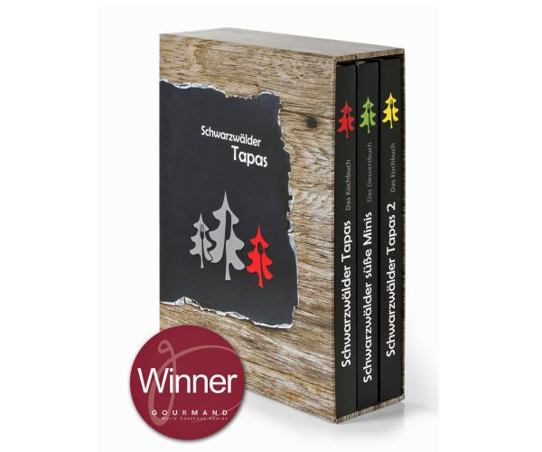 Schwarzwälder Tapas Schuberbox, 3 Bücher