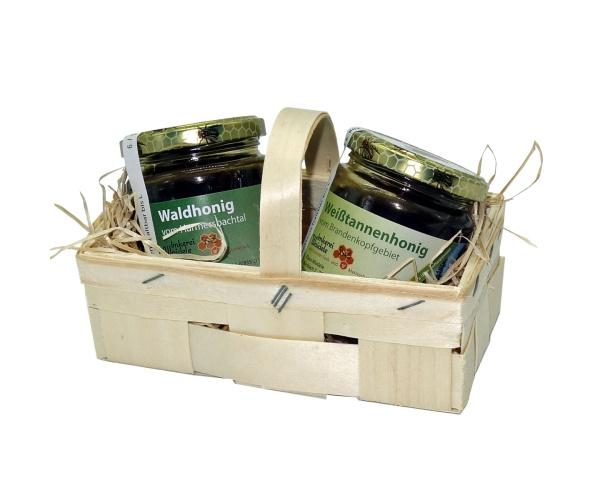 Schwarzwälder Honig-Körble 2 x 250 g Wald + Weißtanne
