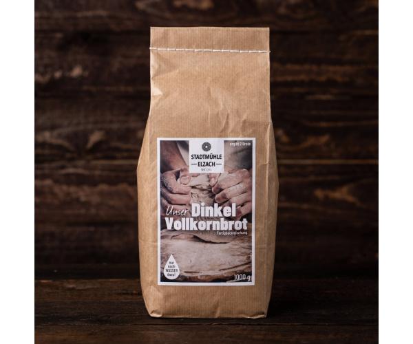 Backmischung Schwarzwälder Dinkel-Vollkornbrot, 1000 g