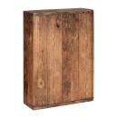 Präsentkarton Weinkarton Vintage Holz-Look, 360x250x95 mm