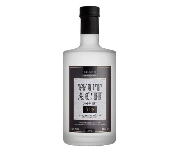 Indlekofer WUTACH - London Dry Gin 43% vol., 500 ml