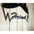 "Wandbild Metallbild ""Heimat"", ca. 90 x 75 cm"