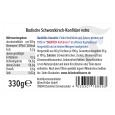 FALLER Schwarzkirsch-Konfitüre extra  330g, 60% Frucht